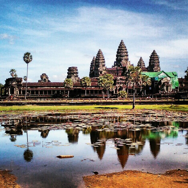 Angkor Wat (one of the Wonders of the World)