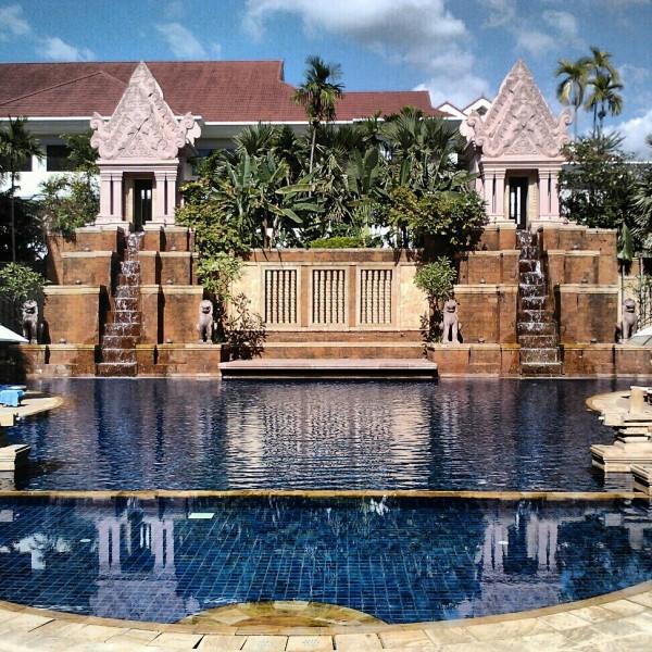 Sokha Angkor Hotel pool