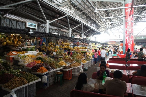 Market Market in the fort