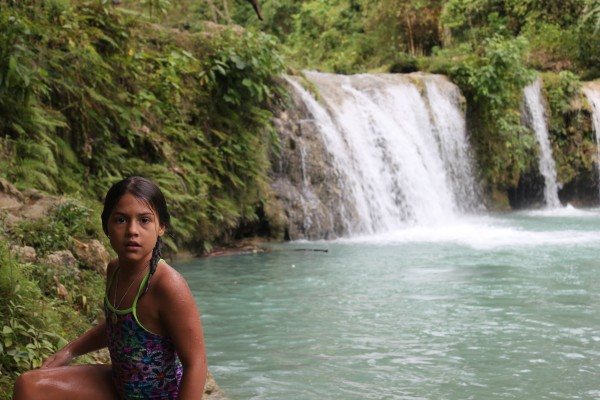 Cambugahay Falls - We had a rope swing to use here and swam in the water...we all loved being here