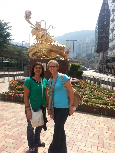 After we checked into our hotel we had some time to walk around.  Hong Kong is very clean and orderly...at least in comparison to Manila