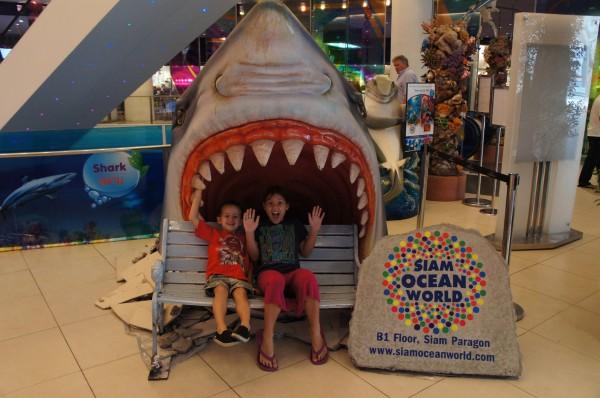 Siam Ocean World is a pretty amazing aquarium on the ground floor of a mall