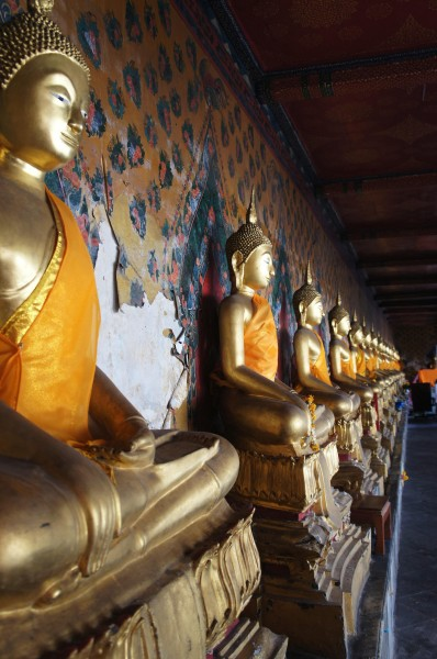 Buddhas at Wat Pho