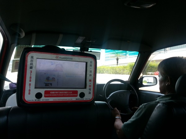 "Drivers and cars are on the ""opposite"" side.  And all of the taxis had some kind of tablet for the passengers to use"