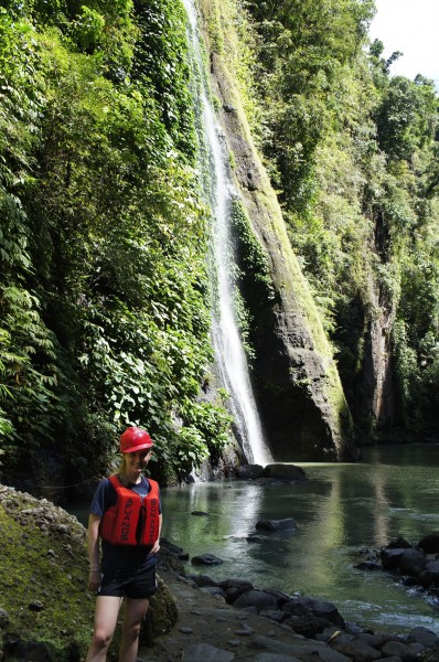 We took a day trip to Pagsanjan Falls