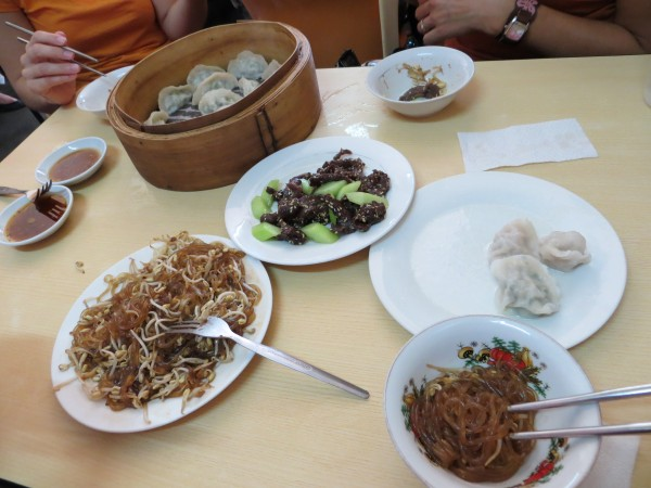 2nd stop was at Dong Bei Dumpling where we got 3-5 different items to try.