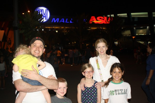 We tried watching the fireworks at The Mall of Asia, but they didn't have any because of the holiday weekend