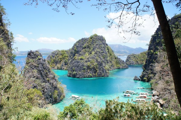 Coron has some of the cleanest and clearest water that we have ever seen.  The rock formations were pretty spectacular as well.