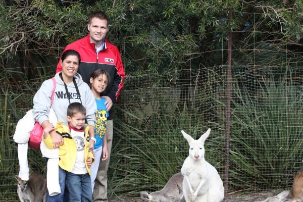 Farley family had a wonderful week in Perth, Australia!