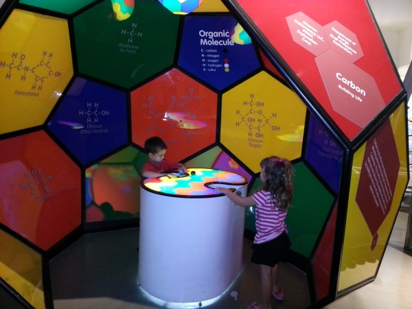 A day at the Mind Museum with friends.