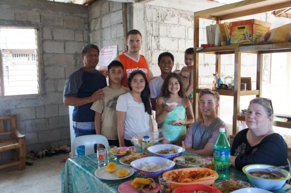 Less than 24 hours of my parents landing in Manila, we took them to Siquijor to see our family. Our cousins hosted us for lunch/dinner many times