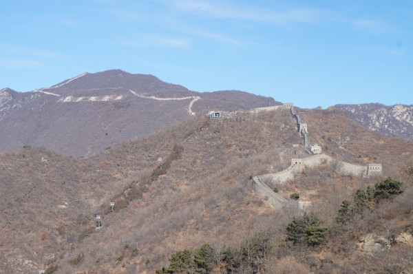 First stop of the day was the Great Wall of China