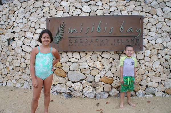 """We then headed to Legazpi to try our luck on that side of the region, but because of the weather, we weren't allowed in the water. So we drove an hour to our second resort """"Misibis Bay"""""""