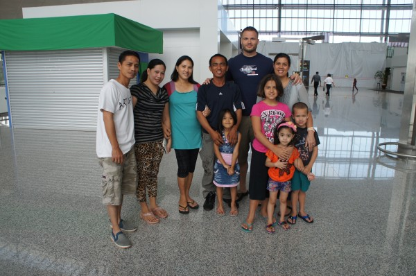 Our family in Brunei stayed with us at the airport while we waited to board our plane. We LOVED being with them and getting to know them better...Family is what it is all about