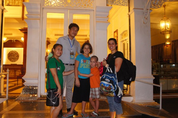 And thanks to our wonderful tour guide Chansay...and if he is booked, his fiance is also a tour guide!