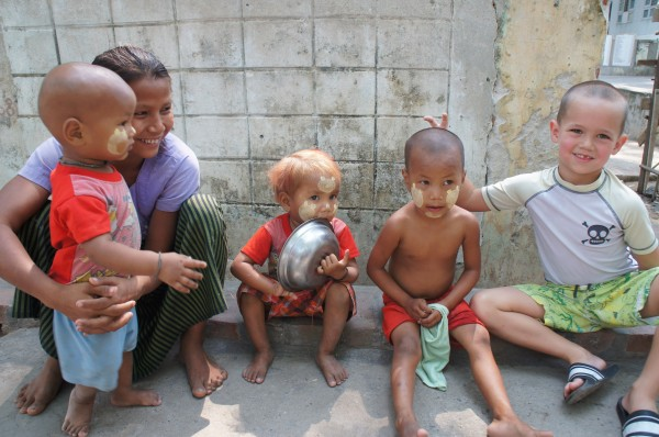 Myanmar - April 2014