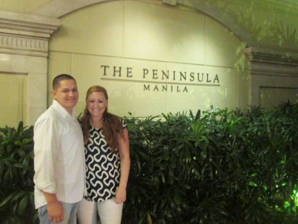 We had a nice dinner at The Peninsula and then went to the lounge to watch/listen to a live band