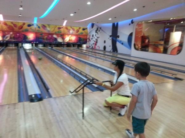Bowling with Mason