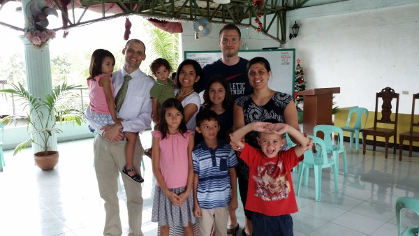 We were able to attend church in Siquijor with our friends from Manila.