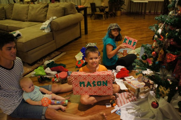 Finally on December 30th, we were able to return home and the kids could open their Christmas presents.