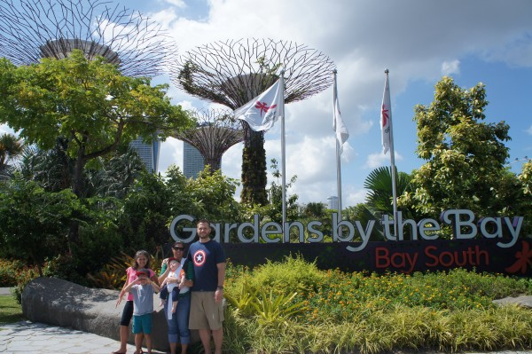 We spent the afternoon at Gardens by the Bay