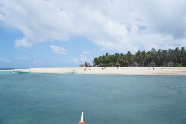 "Second Island to visit is ""Dako Island"". We had a yummy lunch prepared by our resort here."
