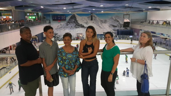 We had to take them to Mall of Asia.