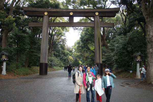 Last place to visit was Meiji Shrine. It is a really large area that the city has been cultivating to make it a beautiful garden/forest for decades.