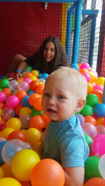 We spent a morning at Active Fun where Blake loved being around the big kids who joined him in the ball pit.