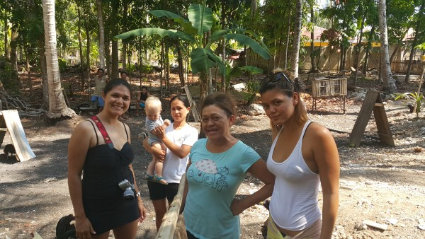 We showed our family where our cousins live and how they live in Siquijor.