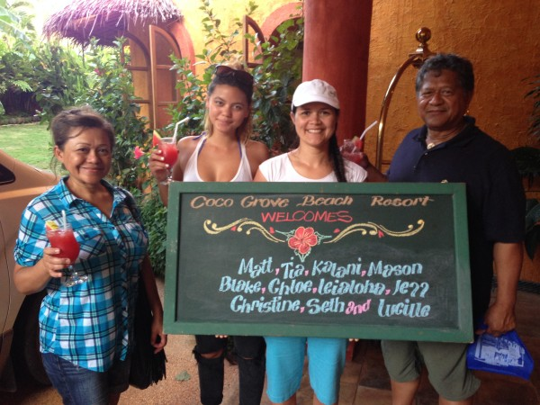 "Welcome to Coco Grove in Siquijor. It has become our ""other home"" in the Philippines!"