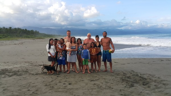 A beautiful location, good food and great people about sums up our weekend in Baler.