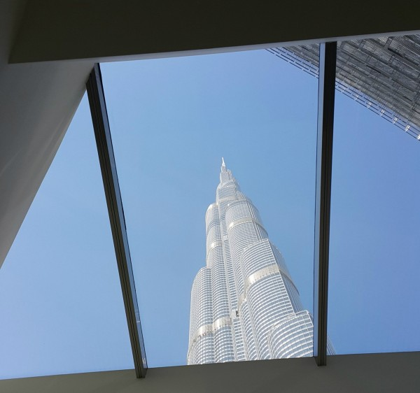 Our friends got us 9am tickets to go up the tallest building in the world, The Burj Kalifa.