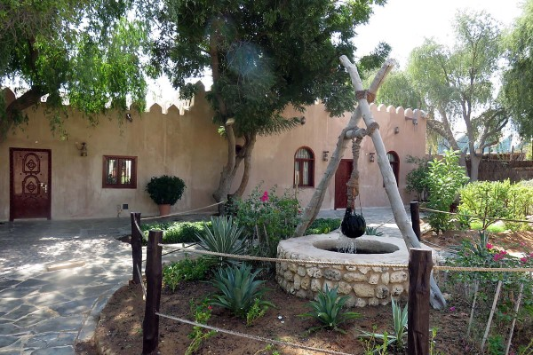 We spent the morning exploring the UAE Heritage Village.