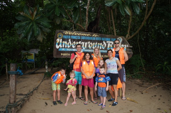 We made it to the Underground River.