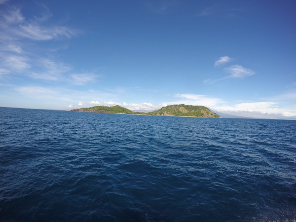 Apo Island is in sight.