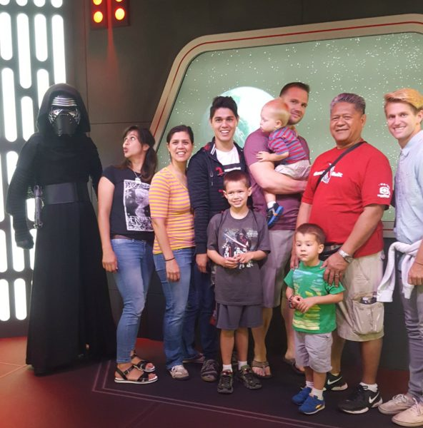 We got to meet Kylo Ren.