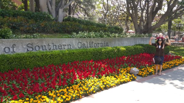 We made it to USC campus