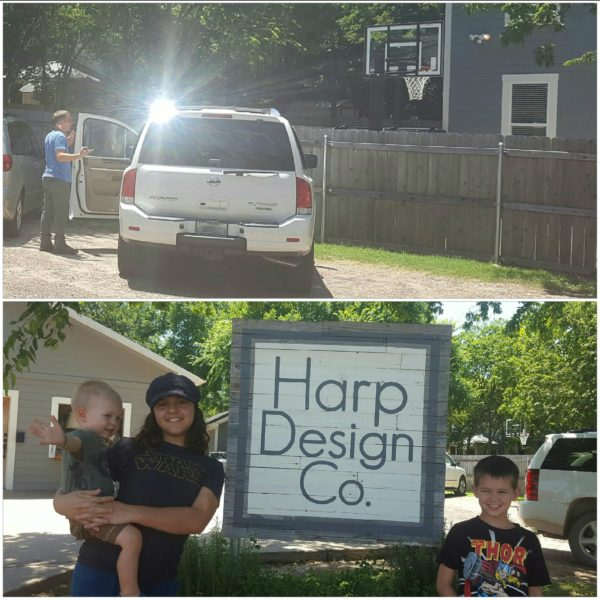 Before heading home we stopped at Harp Design Co. where we were fortunate enough to see Clint Harp outside when we arrived.