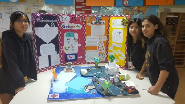 Kalani's group project on creating a new society.