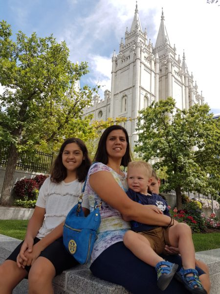 After we packed up and left the resort and grabbed some lunch, we made our way to Salt Lake City to see the temple, walk around Temple Square and meet up with a friend of ours from the Philippines.