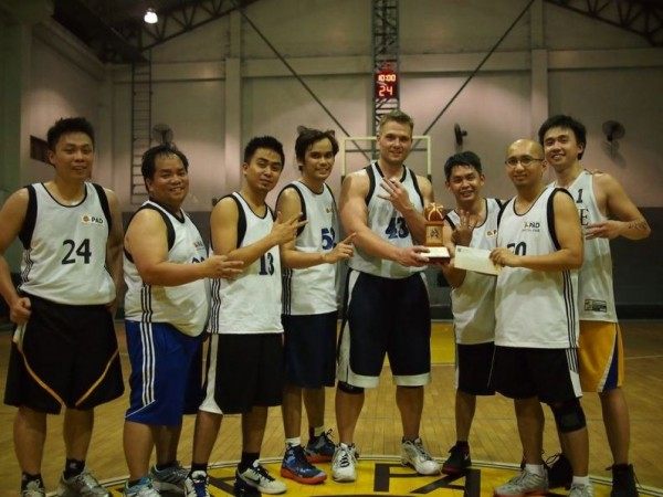 3rd place in the basketball tournament