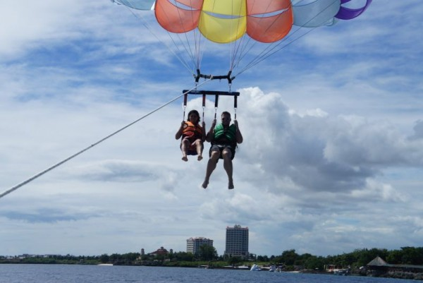Paragliding in Cebu
