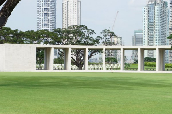 Day visit to the American Cemetery in Manila