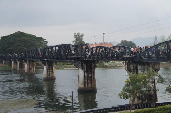 River Kwai Bridge was constructed by World War 2 Allied prisoners of war