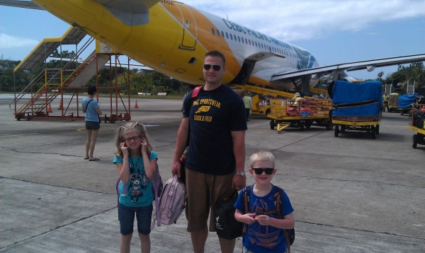 And then it was time to leave Cebu and the next day the Farley family left Manila.