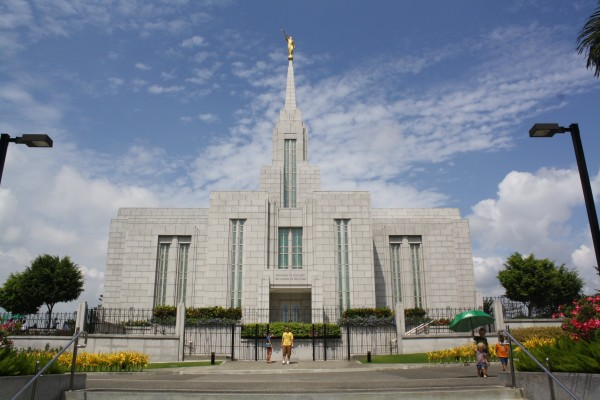 We saw the Cebu Temple and it is BEAUTIFUL!