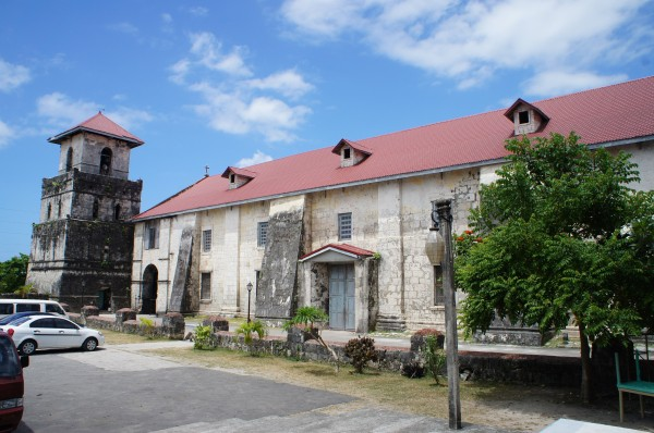 Old Roman Catholic Church, Baclayon, Bohol.  Its first structure was built in 1595, but the current building is from 1724