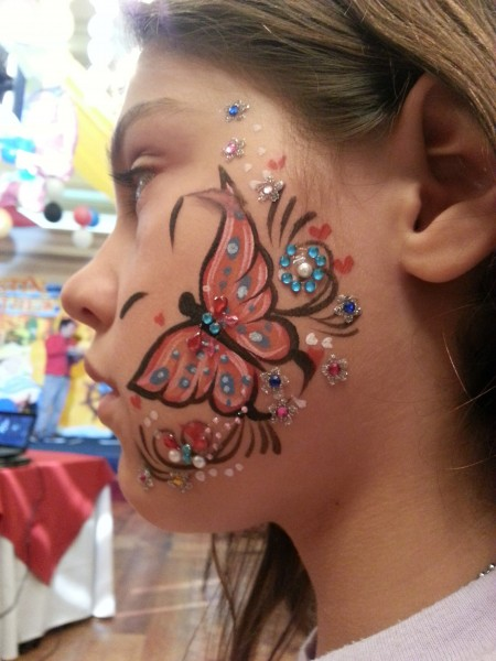 Super cool face painting was available for anyone