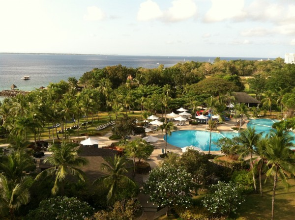 We love the Shangri-La.  Very kid friendly and relaxing.